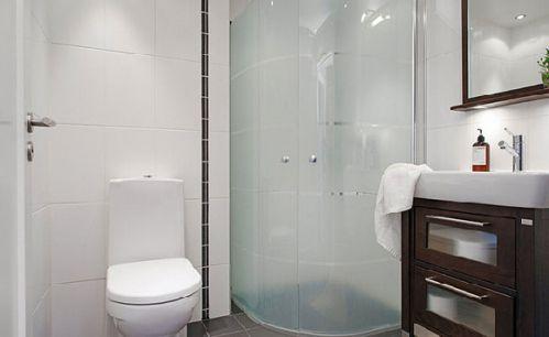 82平迷人公寓卫生间装修图片