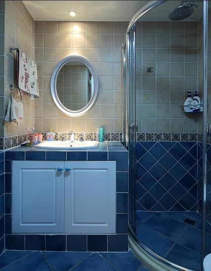 美式休闲家居卫生间设计图片