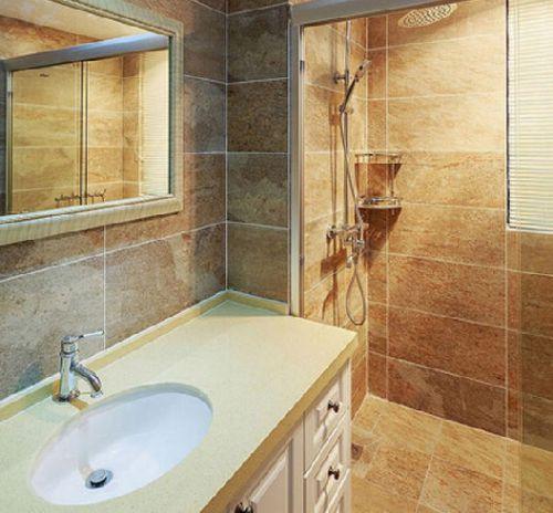 美式乡村家居卫生间图片