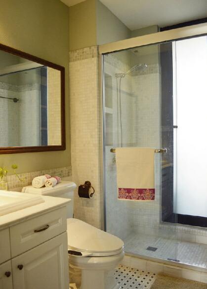 美式田园风格家居装饰卫生间图片