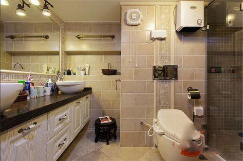 混搭别墅卫生间设计