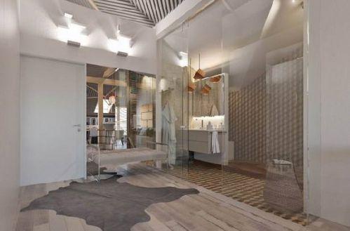 50平阁楼卫生间设计图片