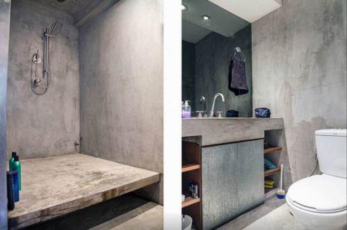 工业混搭设计卫生间图片