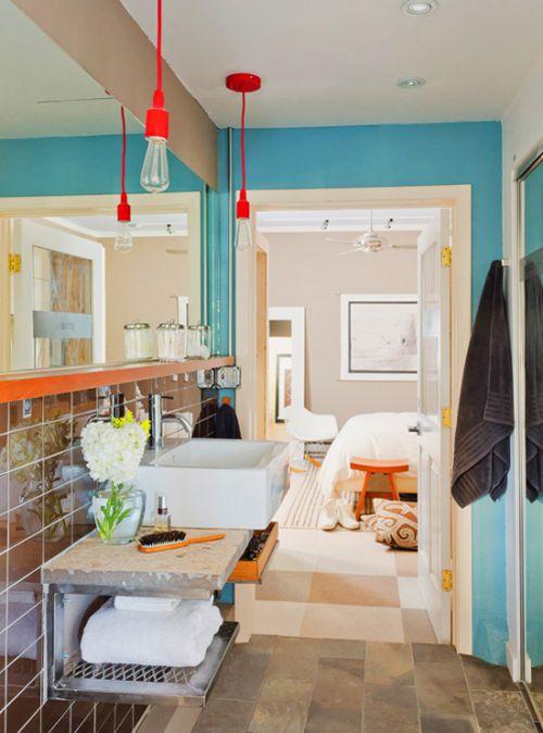 二居室卫生间面盆图片