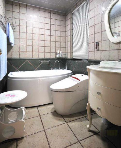 93平地中海风情设计浴室图片