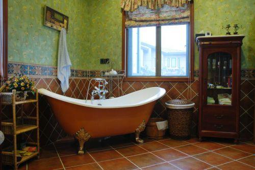 120平地中海风格别墅浴室设计
