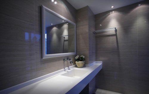 美式地中海风格卫生间洗手池设计