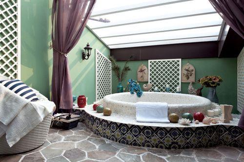 地中海风格别墅浴室设计欣赏