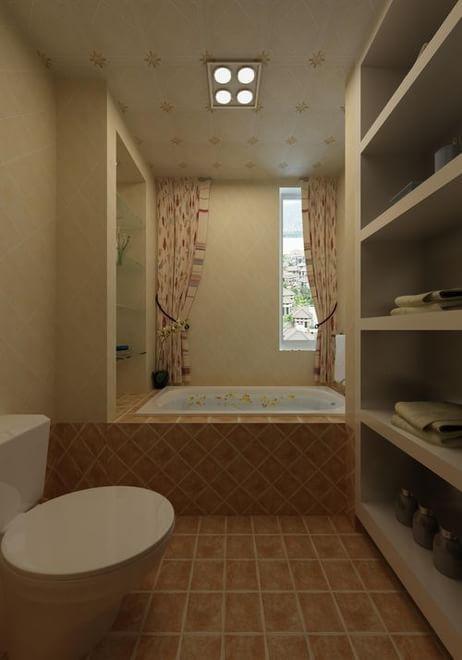 珠江逸景家园卫生间浴缸图片