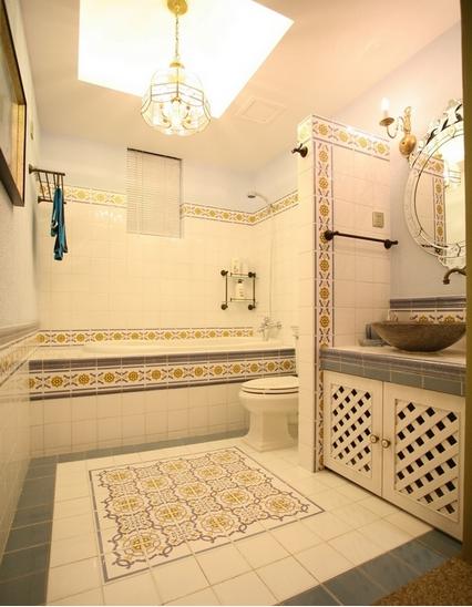 四居室卫生间效果图片