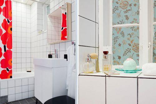 简欧风格设计卫生间效果图