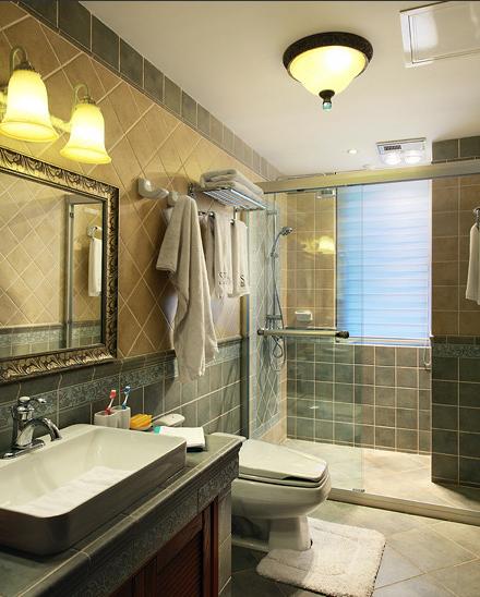 地中海风格室内卫生间图片