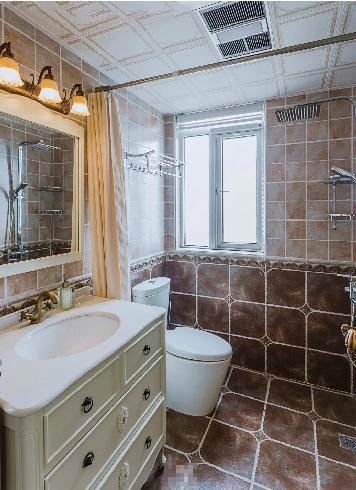 绝美地中海婚房卫生间设计