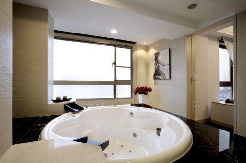 别墅现代简欧装修浴室图片