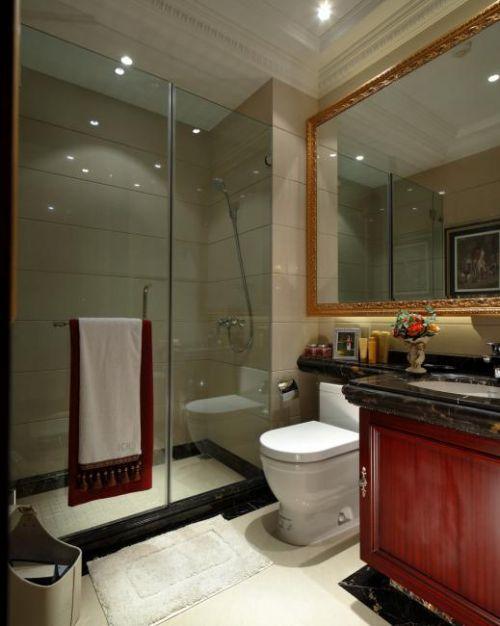 134平豪华欧式别墅卫生间设计