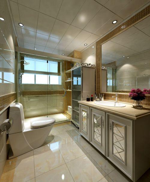 简约欧式风格浴室吊顶装修