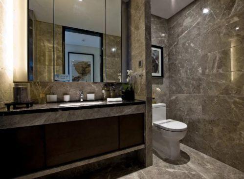 东南亚卫生间浴室镜效果图