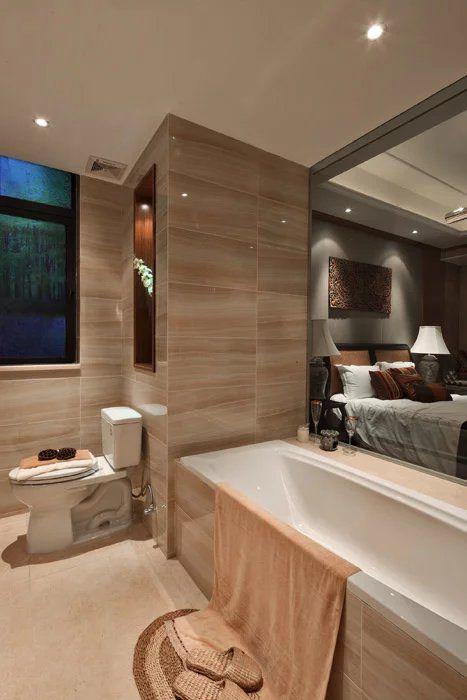 东南亚卫生间浴缸设计图片