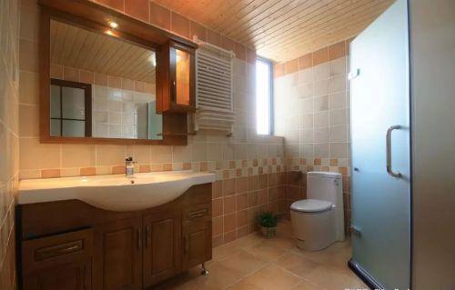 东南亚风格卫生间浴室柜设计