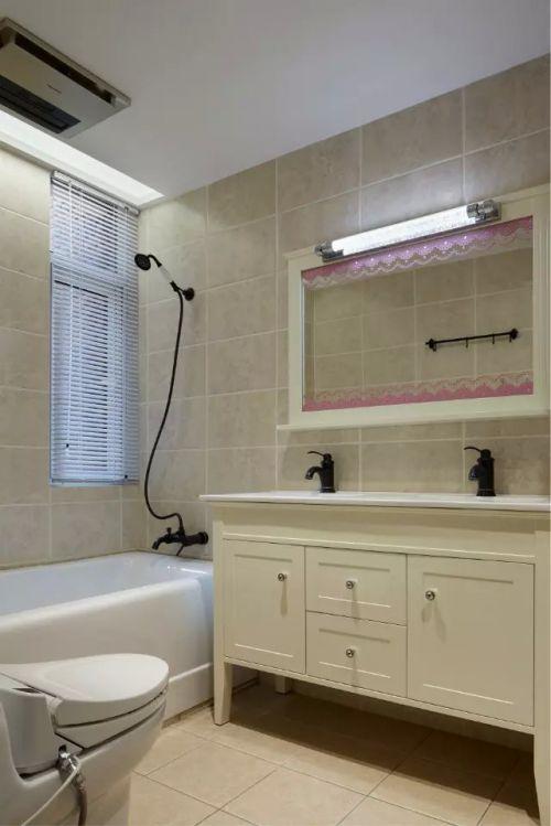 卫生间浴室柜子装修效果图