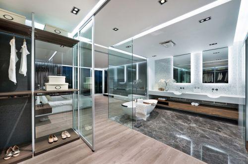 日式风格别墅卫生间设计图片