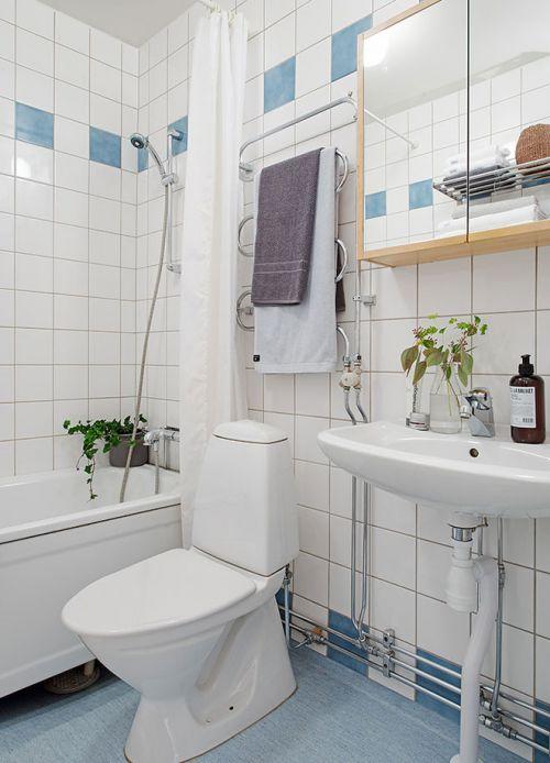 通透两居室北欧卫生间设计