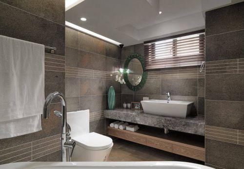 北欧二居卫生间瓷砖设计图