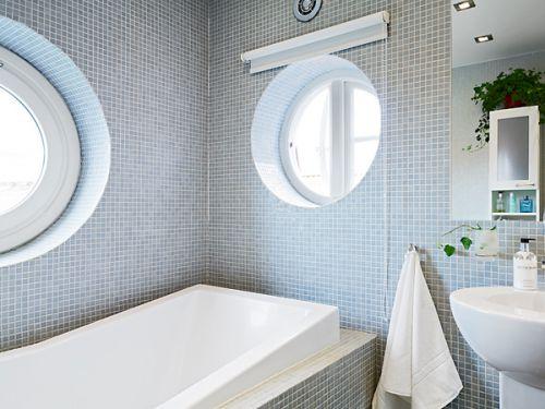 北欧风格阁楼卫生间图片
