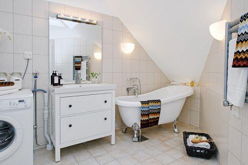 北欧阁楼公寓卫生间图片大全