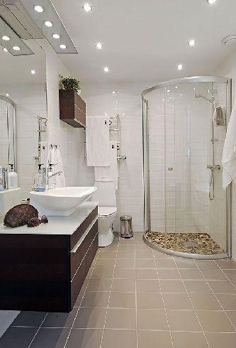 白色复古公寓卫生间装修