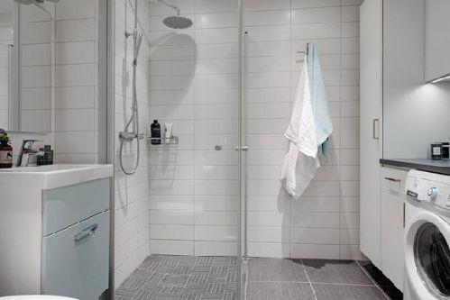 北欧极简家居卫生间设计