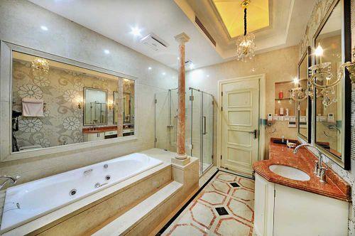 豪华别墅主卧卫生间设计