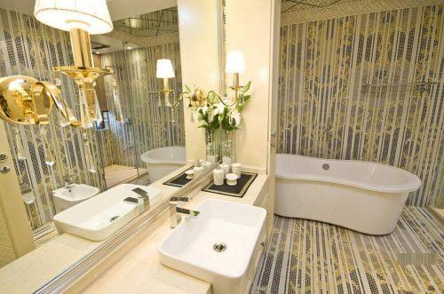 欧式新古典装修卫生间图片