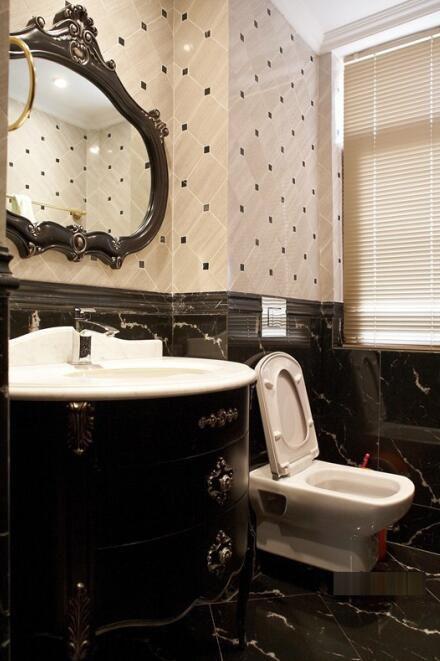 欧式新古典风格卫生间瓷砖图片