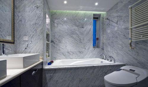 美式新古典风格浴室浴缸效果图