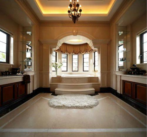 卫生间浴室灯饰家装地板砖效果图