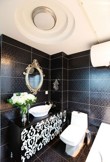 新古典家居卫生间吊顶图片