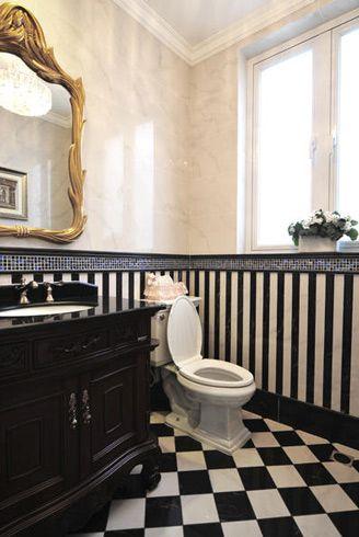 新古典风格卫生间设计