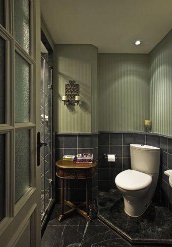 新古典风格别墅卫生间装修图片