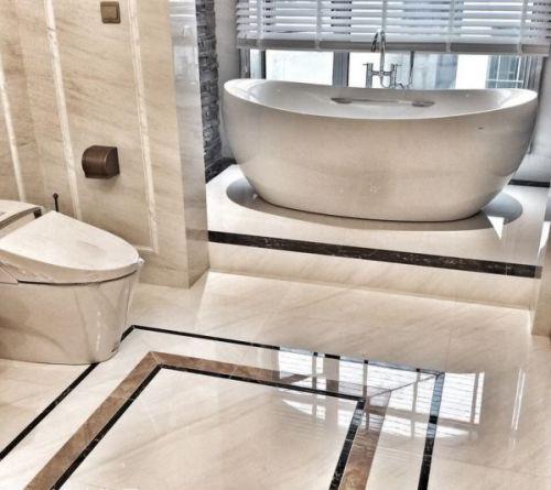 新古典别墅卫生间效果图片
