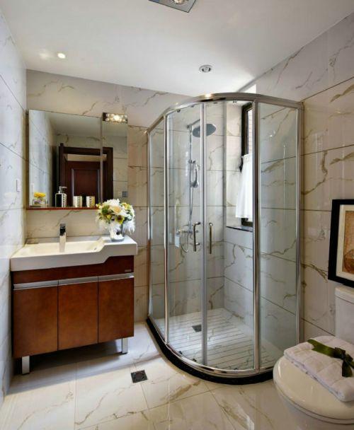 欧式新古典卫生间效果图片