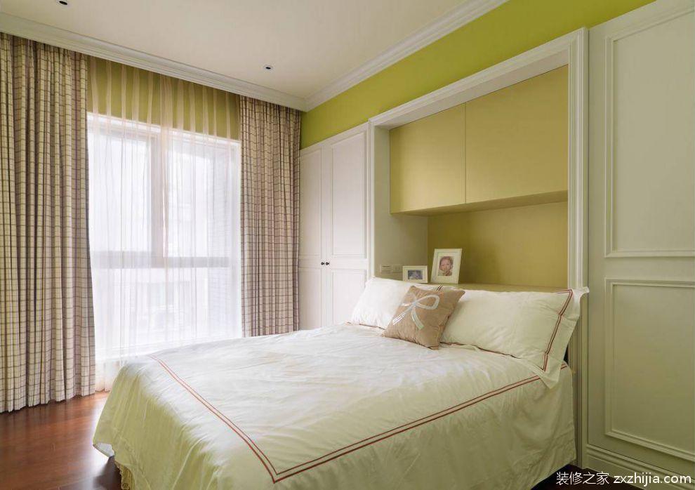 欧式四居儿童房窗帘室内设计图