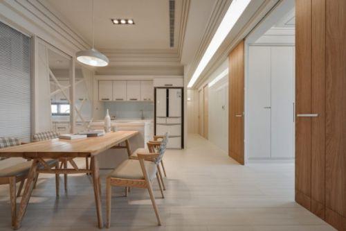 日式风格公寓餐厅装修设计欣赏