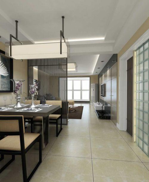 四居室餐厅过道设计图片