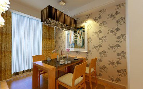 现代家居餐厅飘窗图片