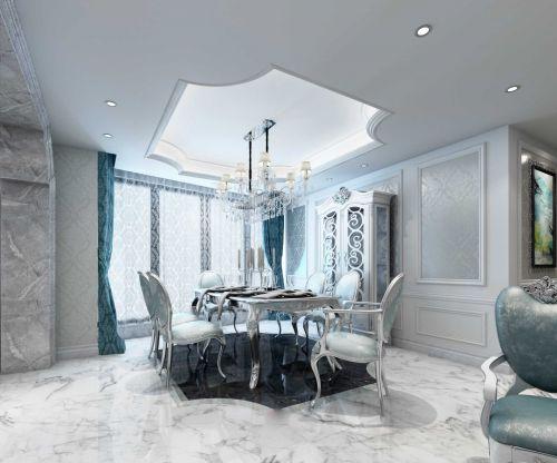 欧式设计风格餐厅飘窗图片