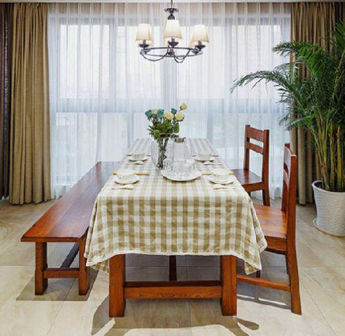美式乡村家居餐厅图片