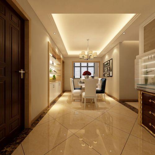 美式风格公寓餐厅设计