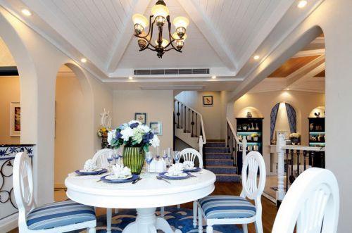 地中海别墅餐厅吊灯图片
