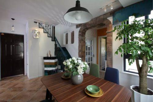 家装餐厅楼梯设计图片装修效果